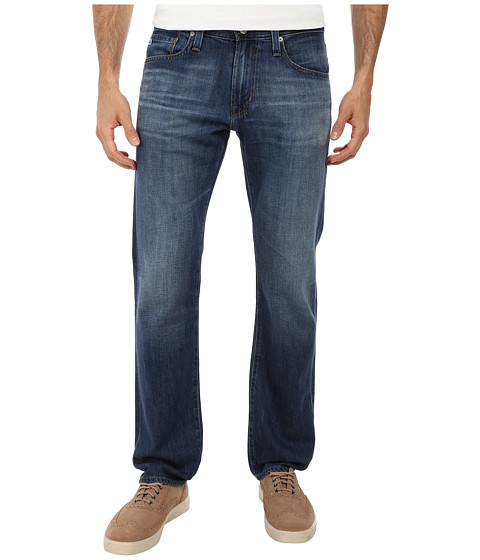 AG Adriano Goldschmied - Matchbox Slim Straight Leg Denim 6 Years Cyanea (6 Years Cyanea) Men's Jeans