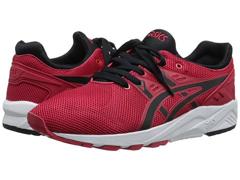 Onitsuka Tiger by Asics - Gel-Kayano Trainer EVO (Red/Black) Men's Shoes