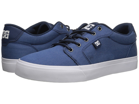 DC - Anvil TX SE (Navy) Men's Shoes