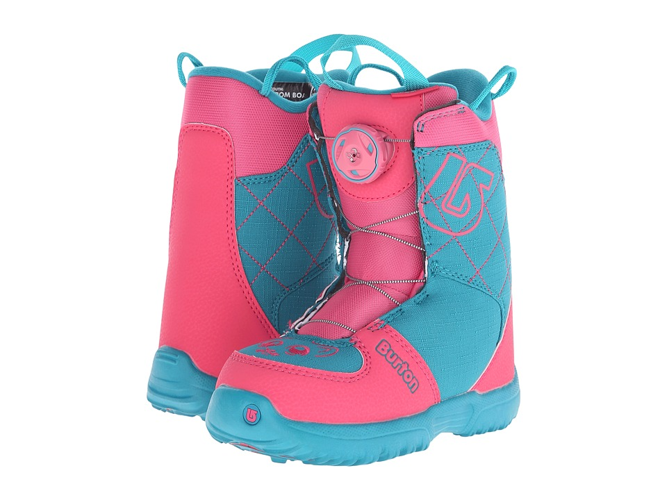 Burton - Grom Boa '16 (Little Kid) (Pink/Teal) Cold Weather Boots