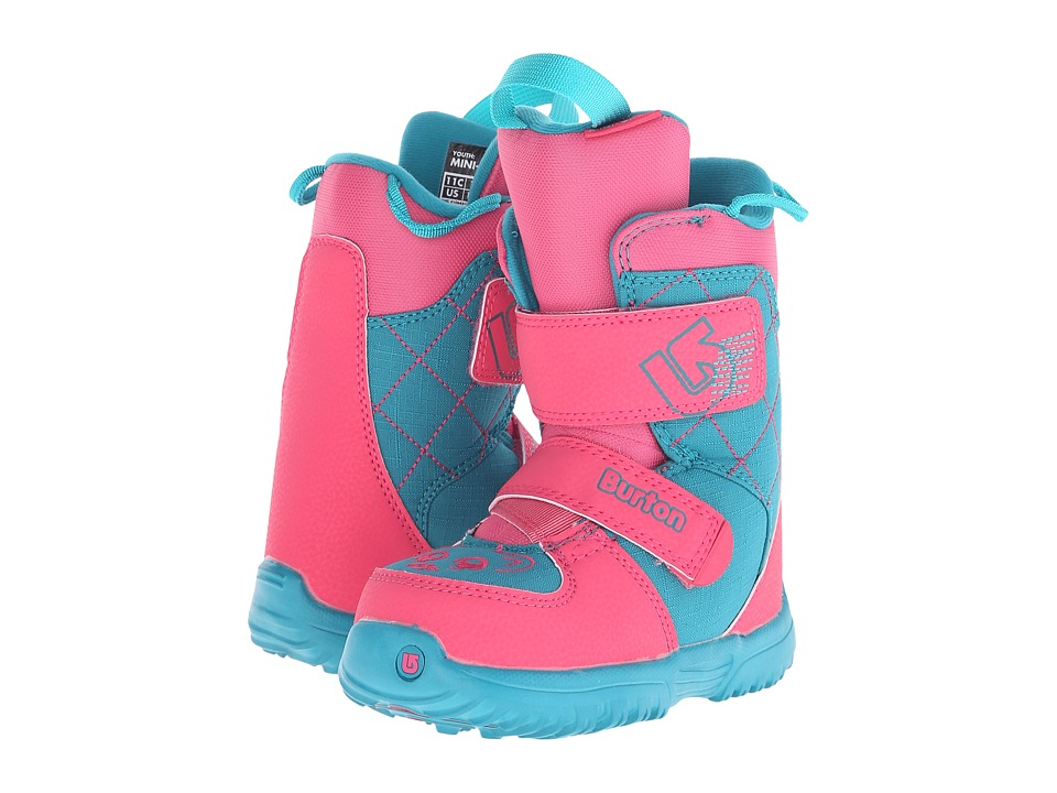 Burton - Mini - Grom '16 (Little Kid) (Pink/Teal) Cold Weather Boots