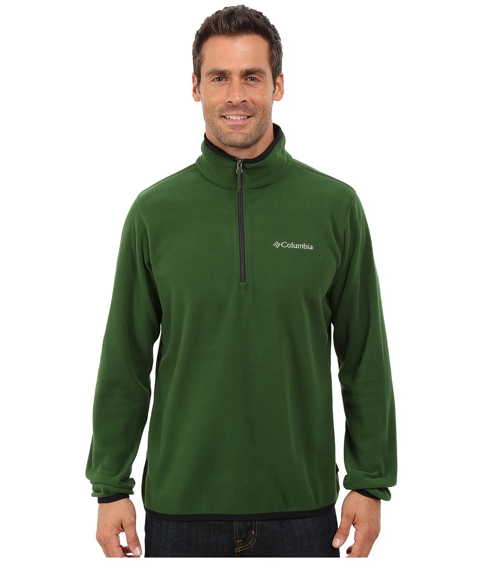 Columbia - Ridge Repeat Half Zip Fleece (Woodland/Black) Men's Coat