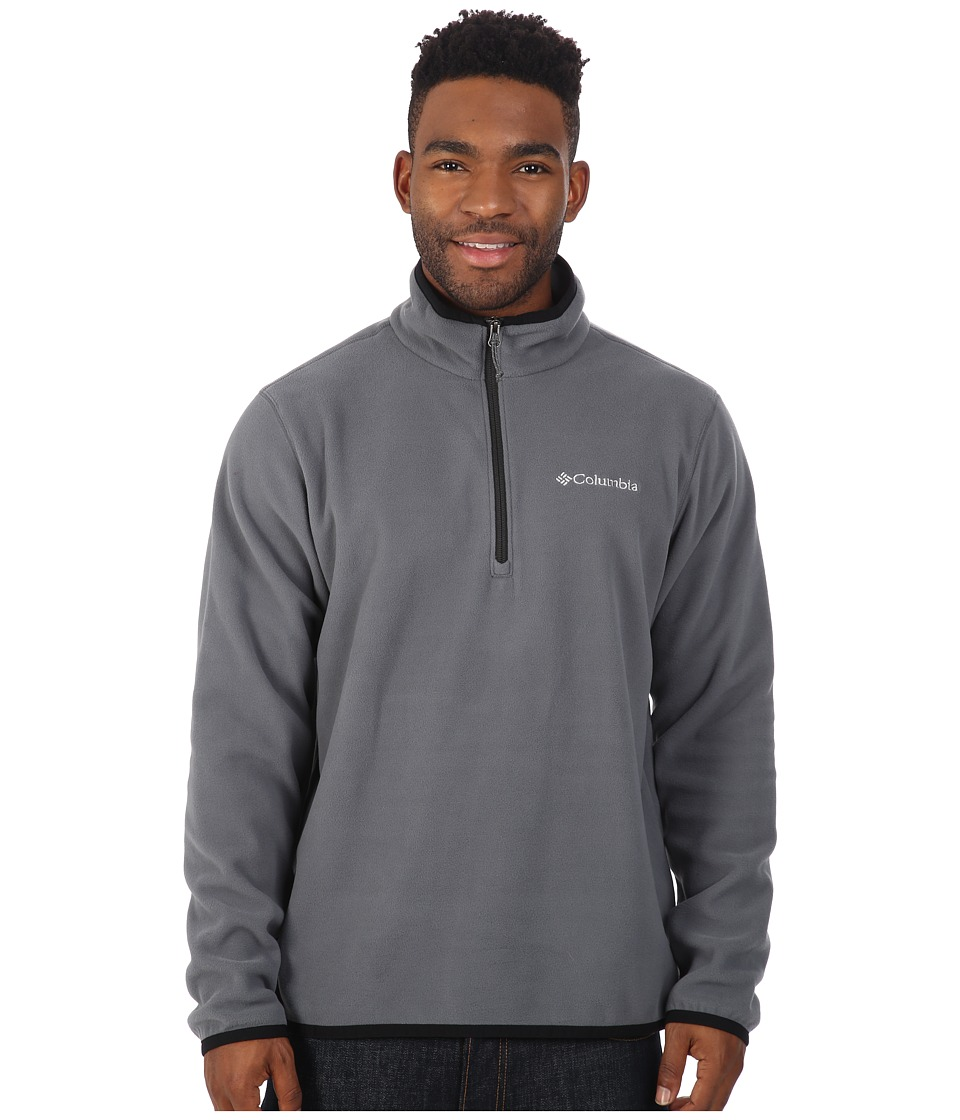 Columbia - Ridge Repeat Half Zip Fleece (Graphite/Black) Men's Sweatshirt