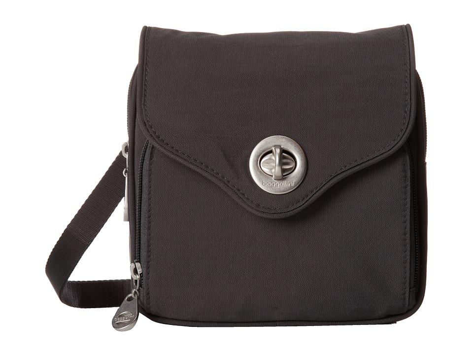 Baggallini - Kensington (Charcoal) Handbags