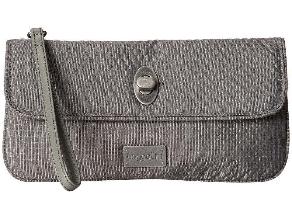 Baggallini - Marilyn Clutch (Pewter) Clutch Handbags