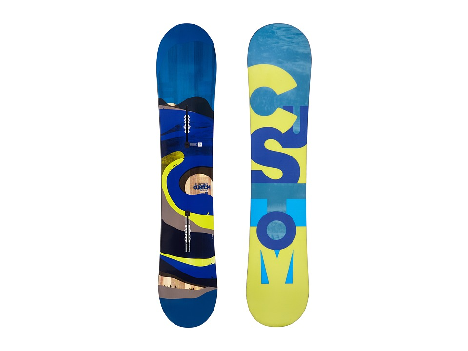 Burton Kids - Custom Smalls '16 130 (Multi) Snowboards Sports Equipment