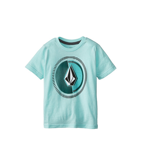Volcom Kids - Overload Short Sleeve Tee (Toddler/Little Kids) (Arctic Blue Heather) Boy