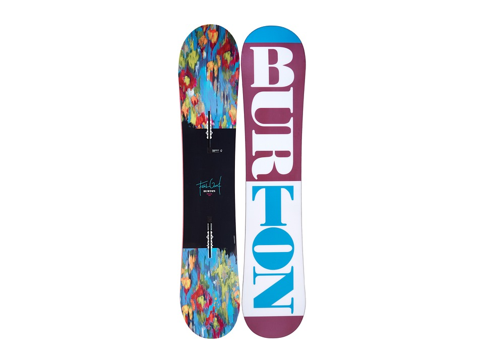 Burton Kids - Feelgood Smalls '16 135 (Multi) Snowboards Sports Equipment