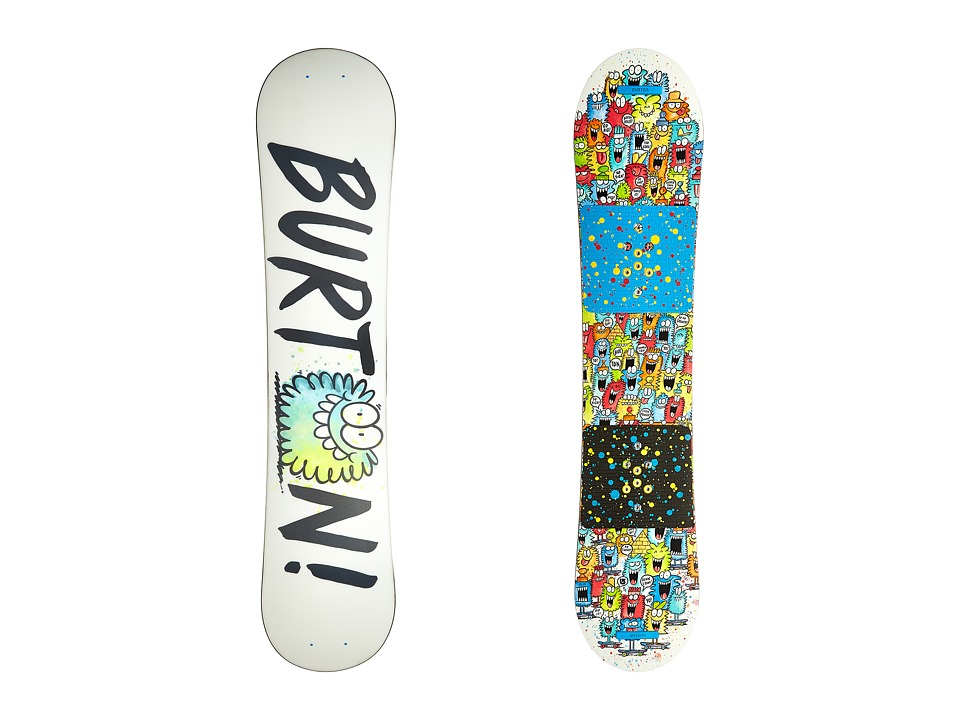 Burton Kids - Chopper '16 120 (Multi) Snowboards Sports Equipment