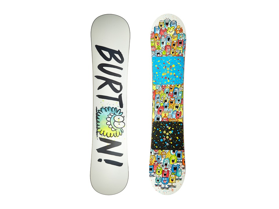 Burton Kids - Chopper '16 130 (Multi) Snowboards Sports Equipment