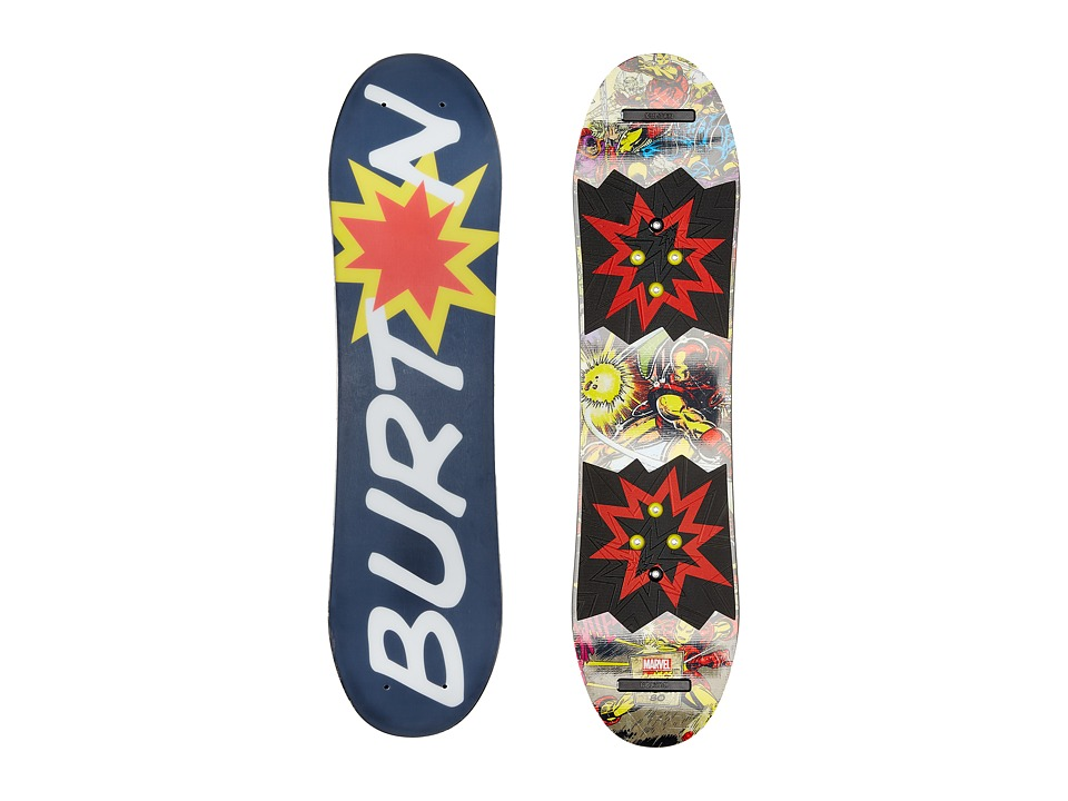 Burton Kids - Chopper LTD Marvel(r) '16 80 (Multi) Snowboards Sports Equipment
