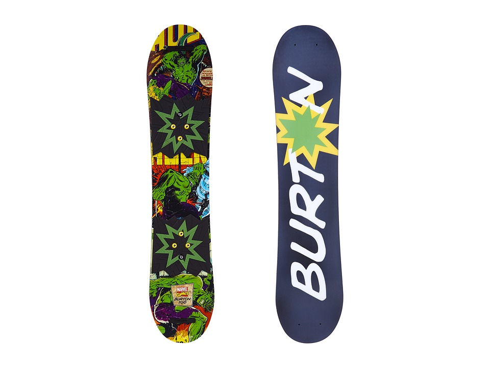 Burton Kids - Chopper LTD Marvel '16 100 (Multi) Snowboards Sports Equipment