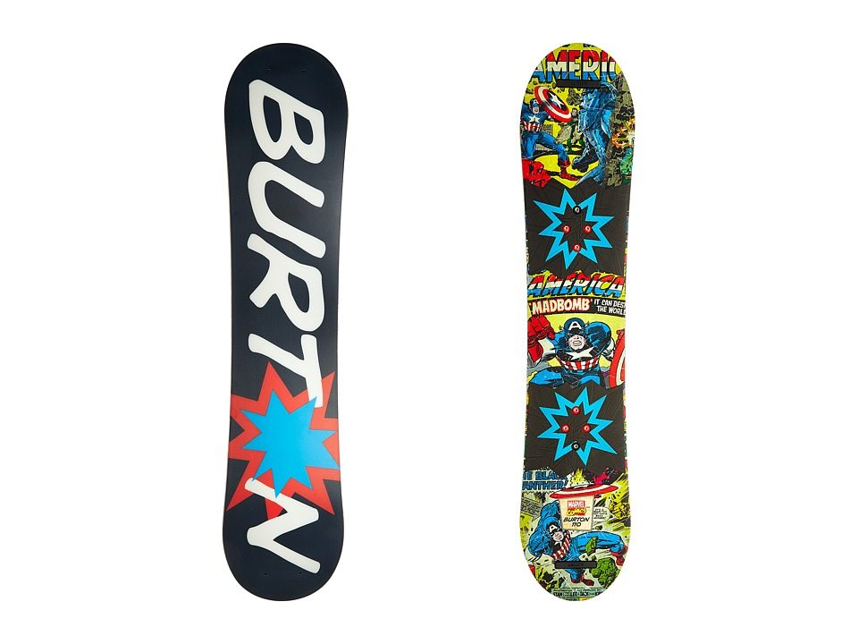 Burton Kids - Chopper LTD Marvel '16 110 (Multi) Snowboards Sports Equipment