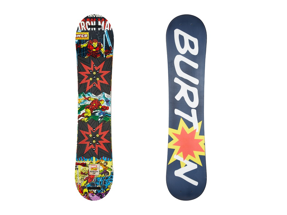 Burton Kids - Chopper LTD Marvel '16 115 (Multi) Snowboards Sports Equipment
