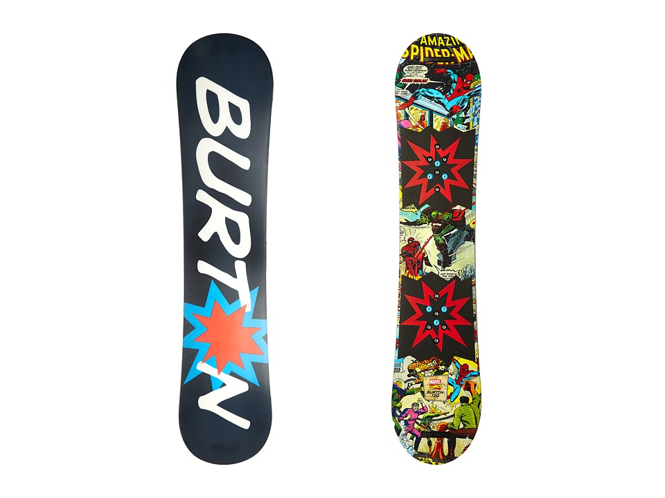 Burton Kids - Chopper LTD Marvel '16 120 (Multi) Snowboards Sports Equipment