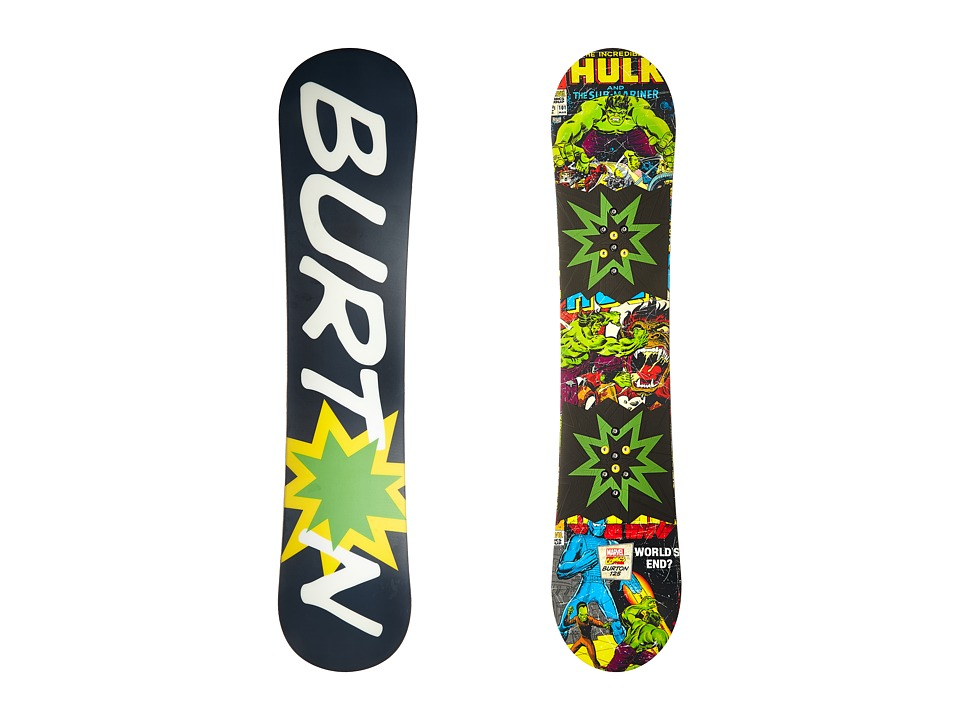 Burton Kids - Chopper LTD Marvel(r) '16 125 (Multi) Snowboards Sports Equipment