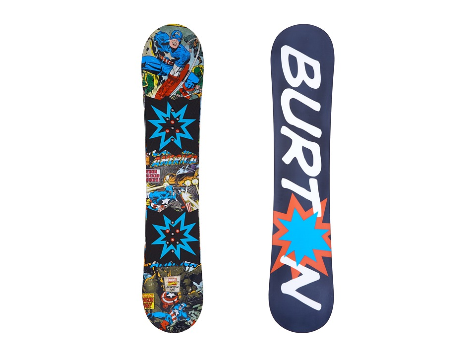Burton Kids - Chopper LTD Marvel '16 130 (Multi) Snowboards Sports Equipment