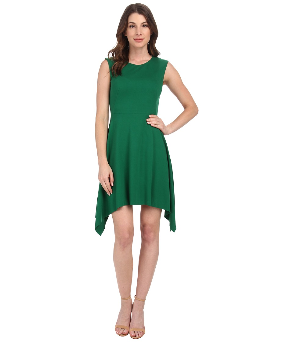Bailey 44 - Asymmetrical Hem Dress (Green) Women