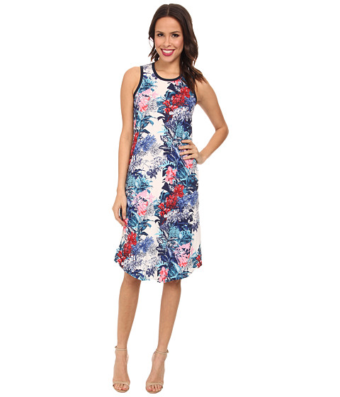 Nally & Millie - Sleeveless Hawaiian Dress (Multi) Women's Dress