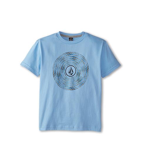 Volcom Kids - Follow Short Sleeve Tee (Big Kids) (False Blue) Boy's T Shirt