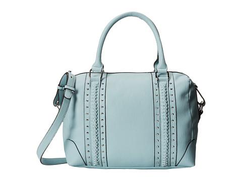 Steve Madden Bbraid Satchel (Blue) Satchel Handbags