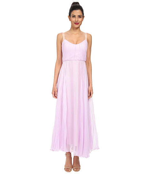 JILL JILL STUART - Luna Crystal Pleated Dress (Lilac) Women's Dress