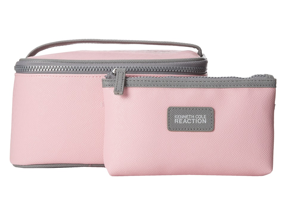 Kenneth Cole Reaction - 2 Piece Train Set (Pink) Cosmetic Case