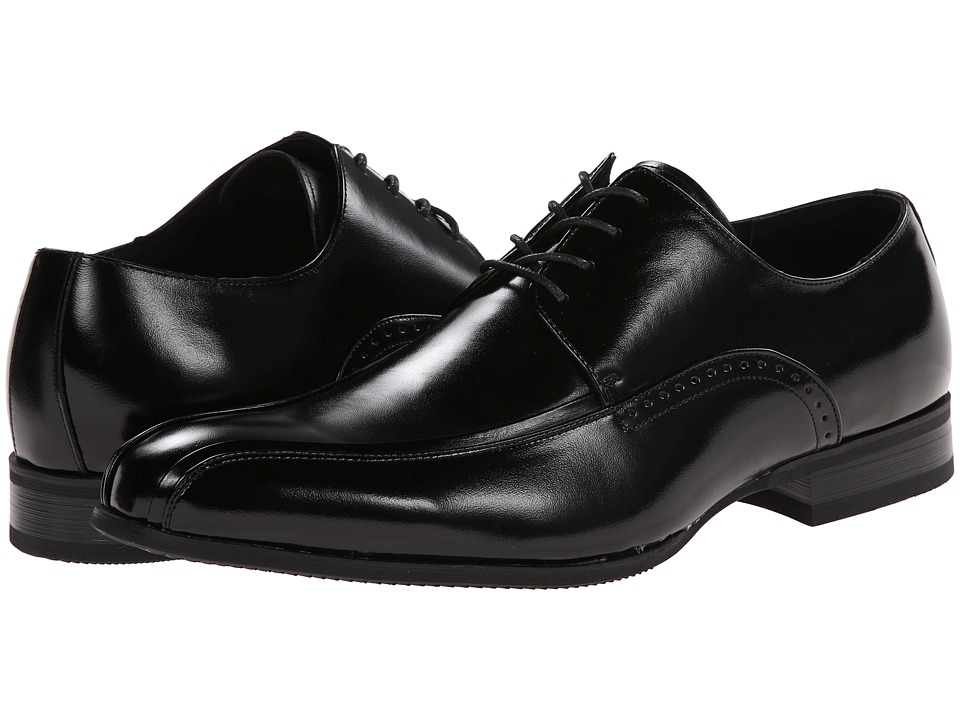 Stacy Adams - Gilroy (Black) Men's Lace-up Bicycle Toe Shoes