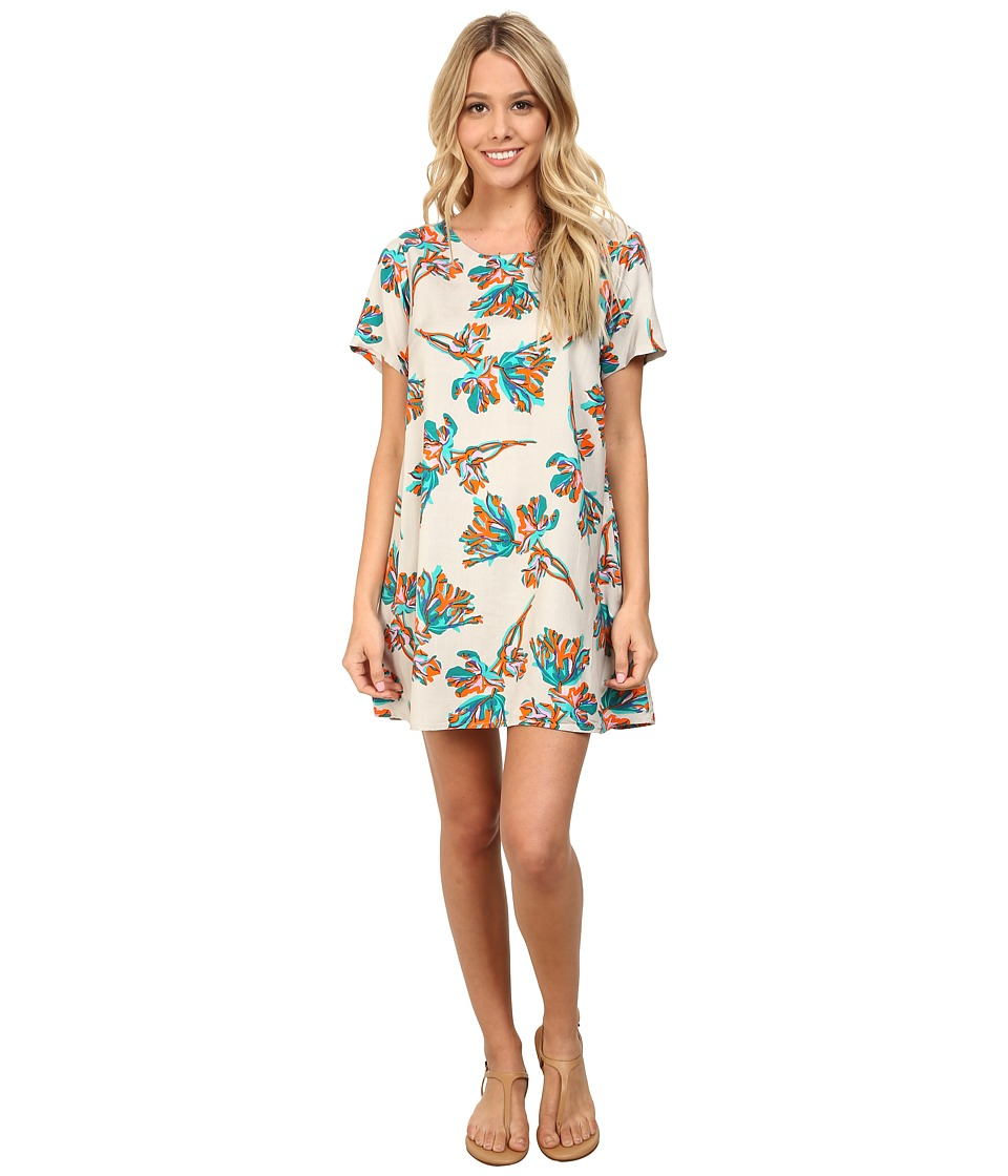 Obey - Blythe Dress (Natural Multi) Women's Dress
