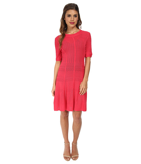 BCBGMAXAZRIA - Alena City Dress (Bright Poppy) Women