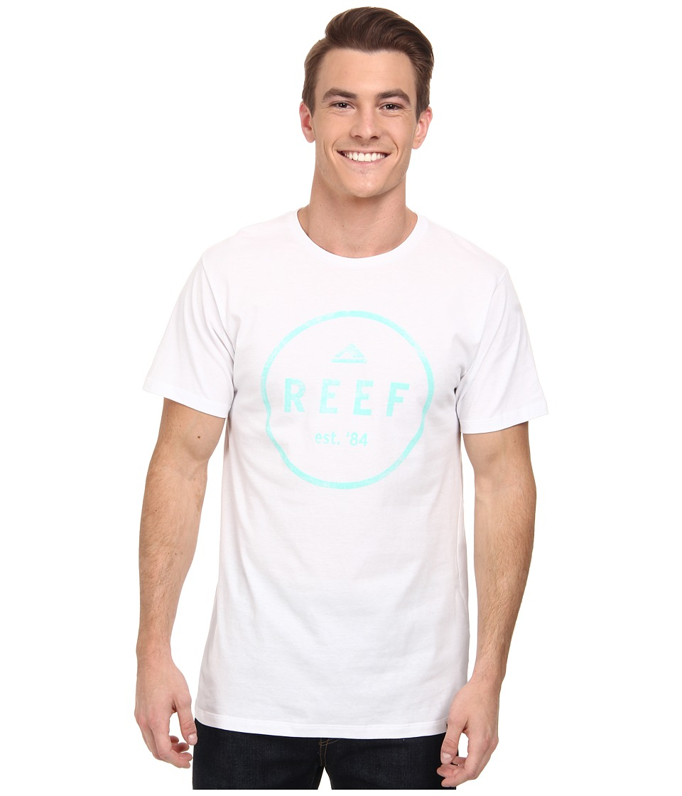 Reef - Colorep T-Shirt (White) Men