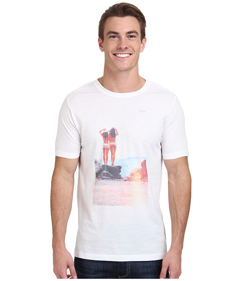 Reef - Miss Reef Splash Zone T-Shirt (White) Men's T Shirt