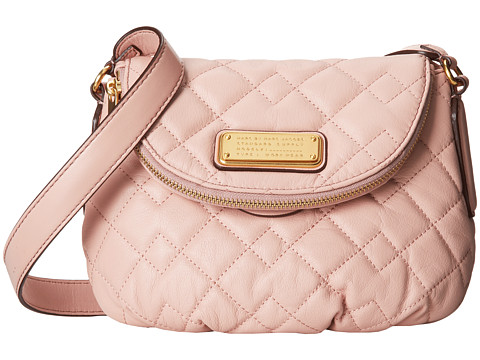 Marc by Marc Jacobs - New Q Quilted Mini Natasha (Dusty Bloom) Cross Body Handbags