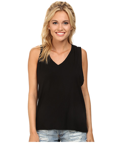 Obey - Slider Tank Top (Black) Women's Sleeveless