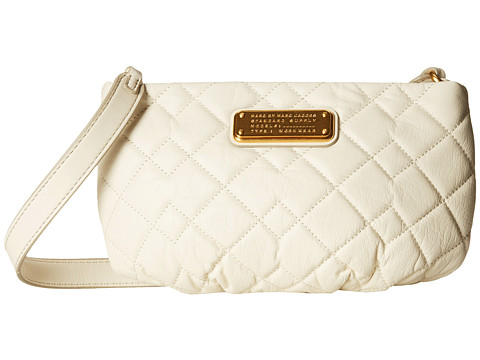 Marc by Marc Jacobs - New Q Quilted Percy (Leche) Handbags