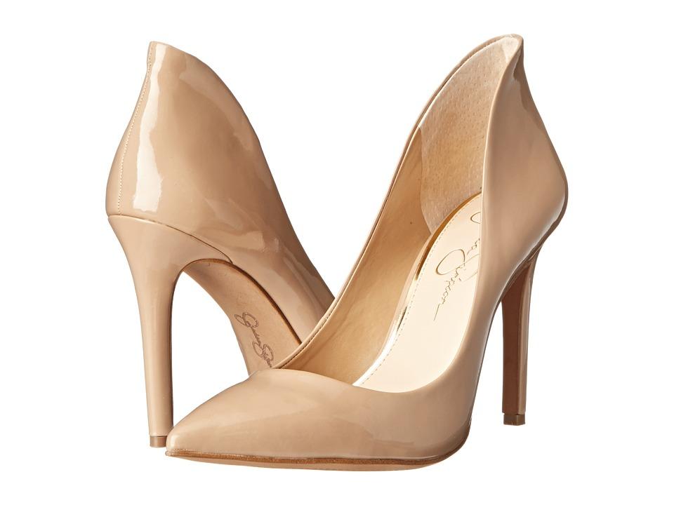 Jessica Simpson - Cambredge (Nude Patent) High Heels