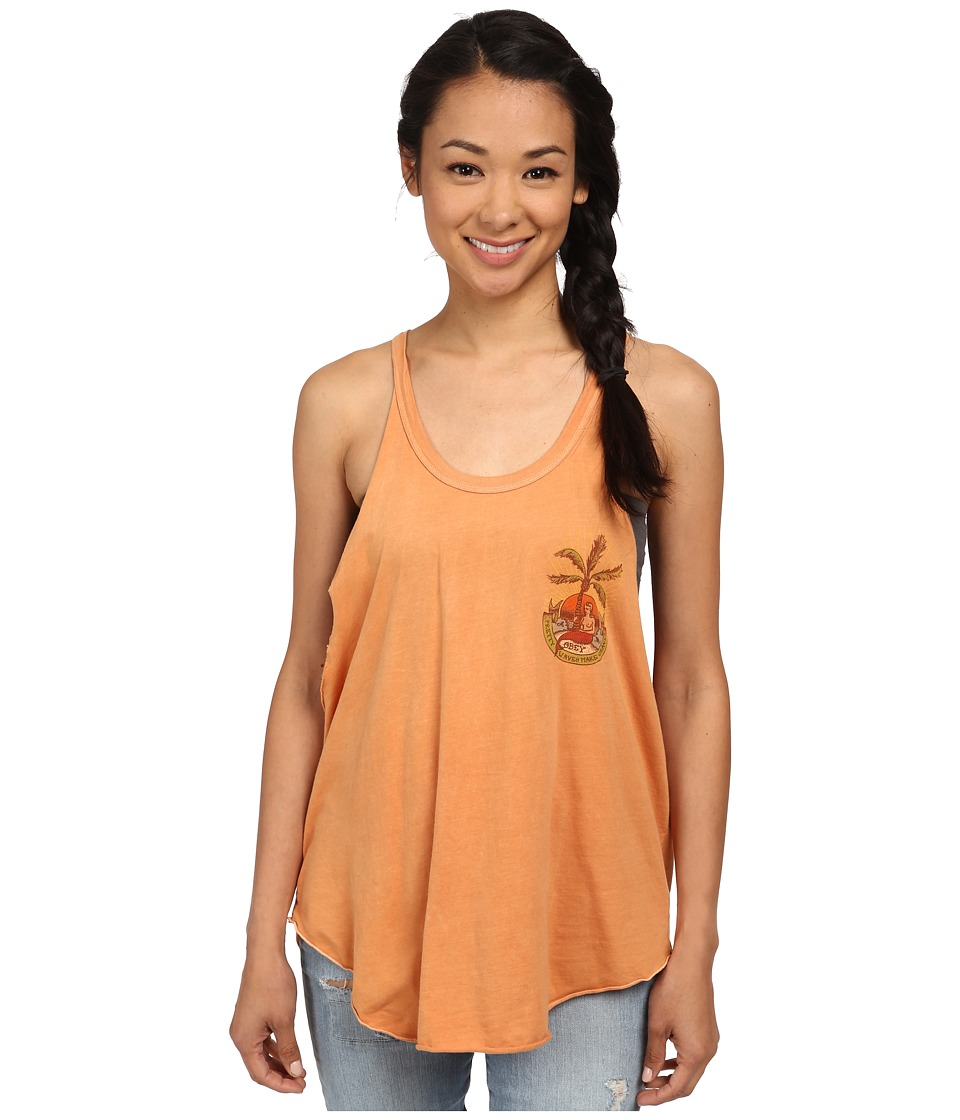 Obey - Isla Tank Top (Dusty Apricot Tan) Women's Sleeveless