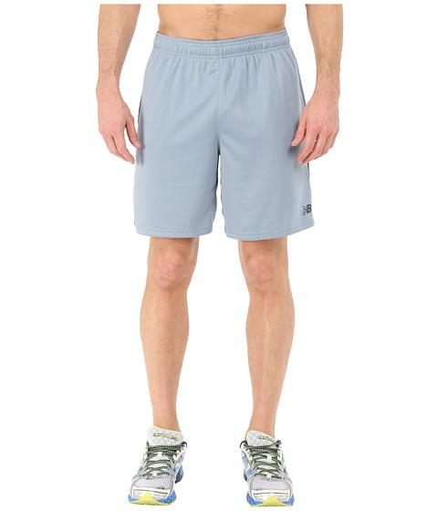 New Balance - Knit Training Shorts (Cyclone) Men