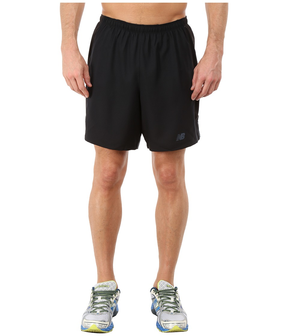 New Balance - 2-in-1 Training Shorts (Black) Men