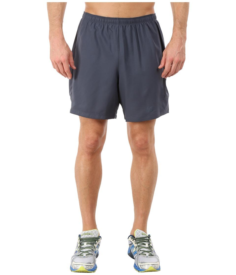 New Balance - 2-in-1 Training Shorts (Thunder) Men