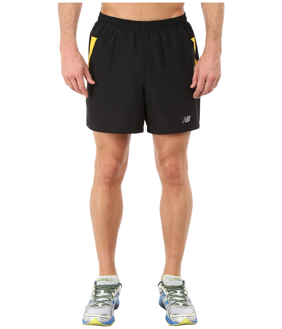New Balance - Woven Run Shorts (Halo) Men's Shorts