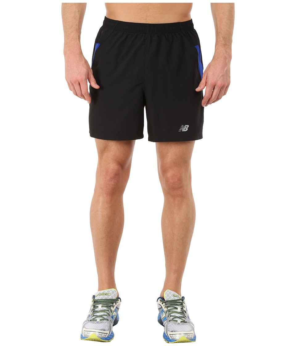 New Balance - Woven Run Shorts (Ocean Blue) Men's Shorts