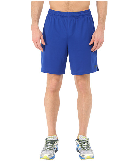 New Balance - Knit Training Shorts (Ocean Blue) Men