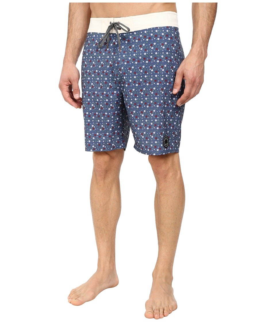 Matix Clothing Company - Barva Boardshorts (Navy) Men's Swimwear