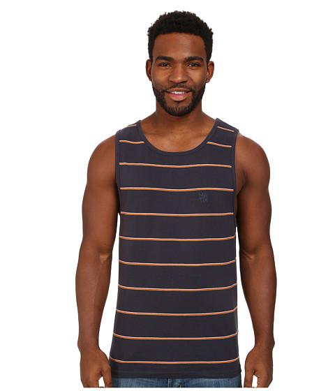 Matix Clothing Company - Breaks Tank Knit (Navy) Men's Sleeveless