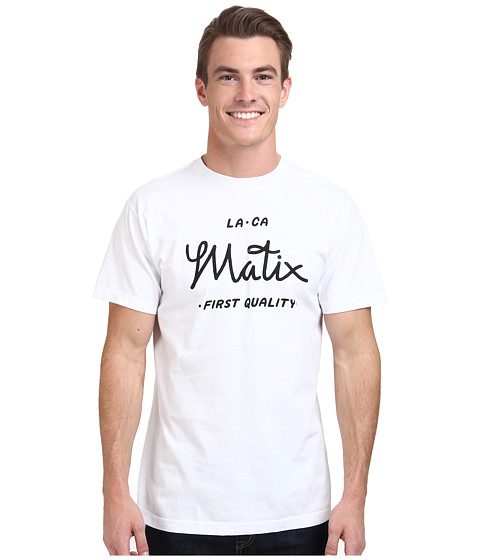 Matix Clothing Company - First Quality T-Shirt (White) Men's T Shirt