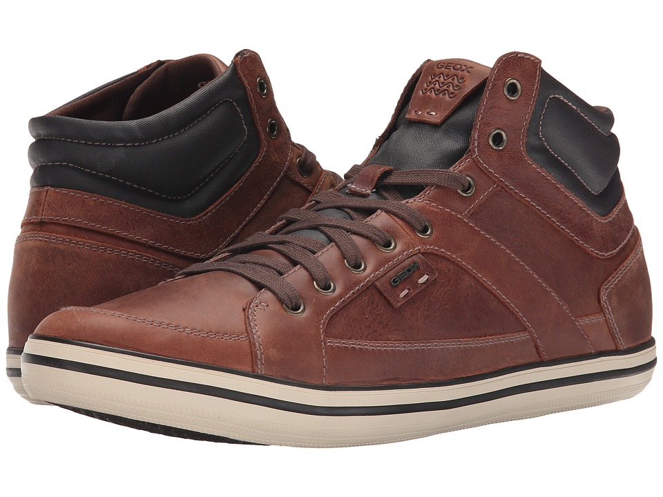 Geox - U Box 14 (Brown Cotto) Men's Lace up casual Shoes