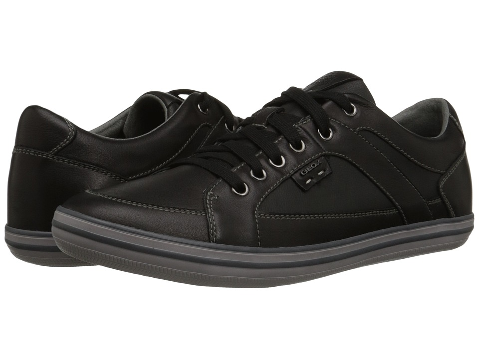 Geox - U Box 13 (Black) Men's Lace up casual Shoes