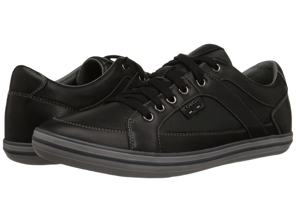 Geox - U Box 13 (Black) Men's Lace up casual Shoes