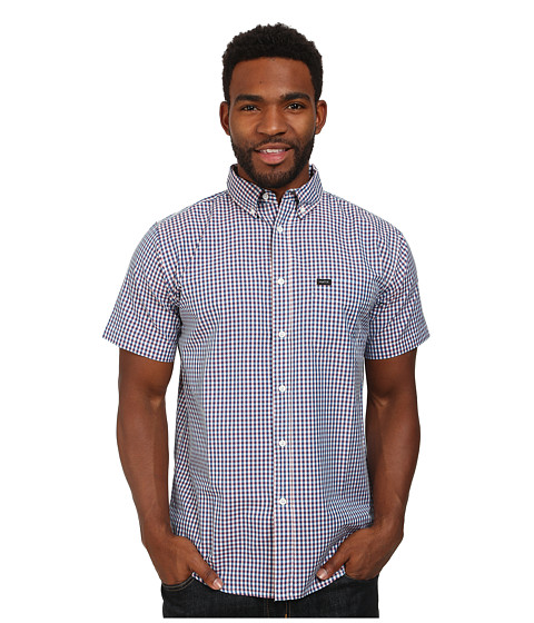 Matix Clothing Company - King Gingham Woven Top (Blue) Men